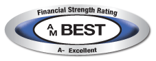 Financial Strength Rating. A- Excellent