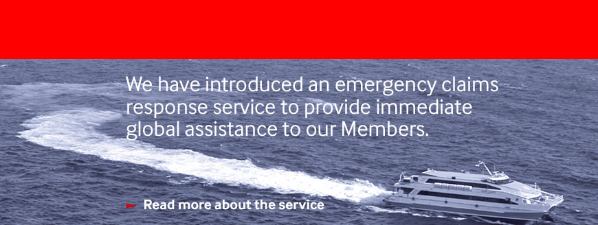 Shipowners' emergency claims response service