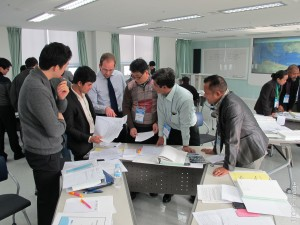 ITOPF Technical Adviser, Joe Green, assisting at an IMO training course in Korea