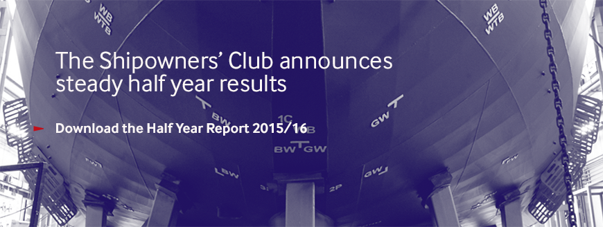 The Shipowners' Club announces steady half year results
